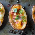 Easy Potato Skins Recipe