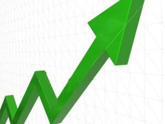 up arrow rising dividend stock income stream passive cash flow lifetime investor return