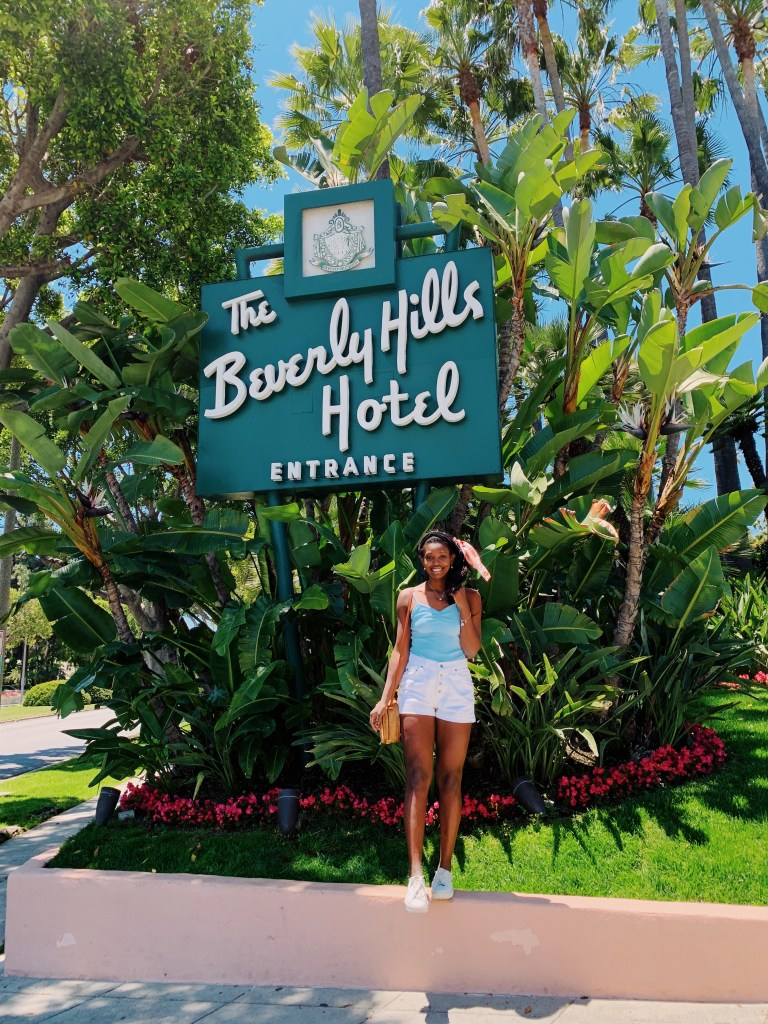 the Beverly Hills hotel