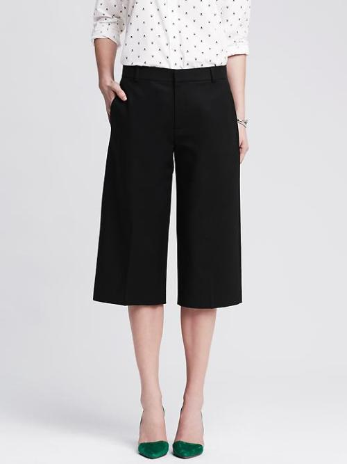 black banana republic culottes