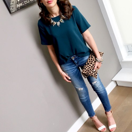 cs gems vintage statement necklace outfit