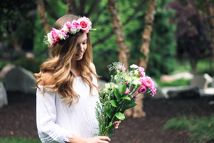 REAL Flower Crown DIY Daily Dose Of Charm