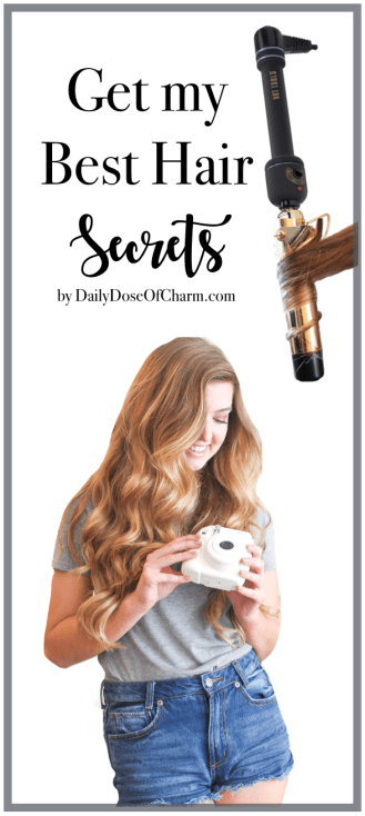 How I curl my hair and how I curl my hair with hair extensions. Also a Luxy Hair review PLUS discount code! Curly hair by Lauren Lindmark on dailydoseofcharm.com