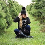 Christmas Tree Farm Ootd Daily Dose Of Charm