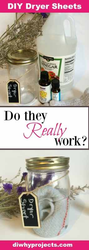 DIY Non-toxic dryer sheets, do they really work?