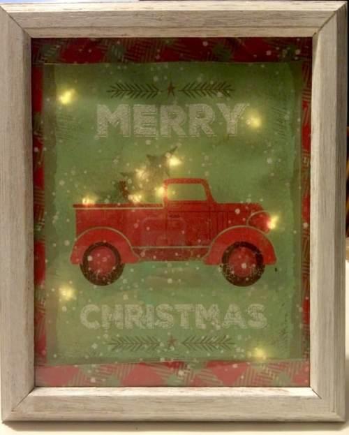 Light Up Christmas Sign
