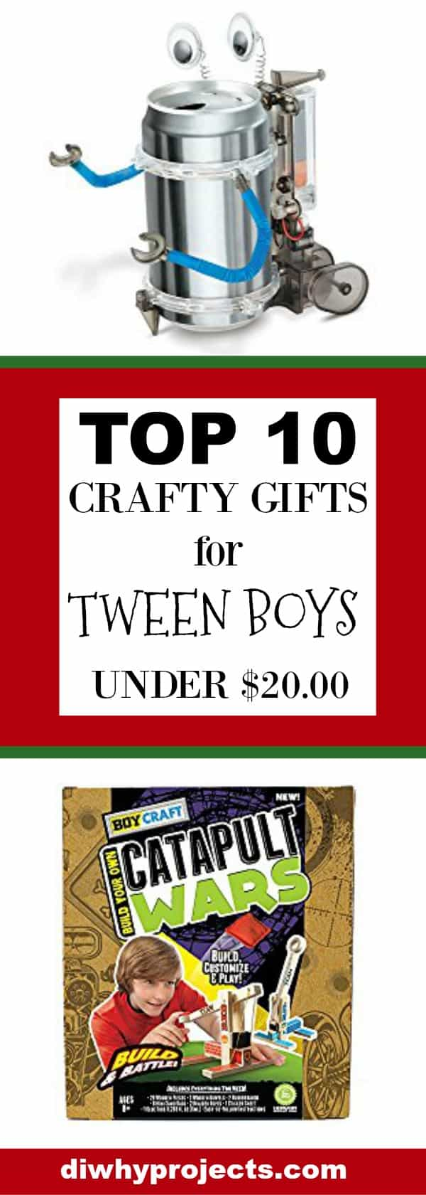 top 10 crafty gift ideas for tween boys 2017 christmas gift guide daily dose of diy