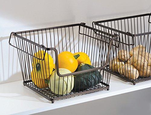 pantry organization basket for produce