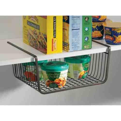 under the shelf pantry basket