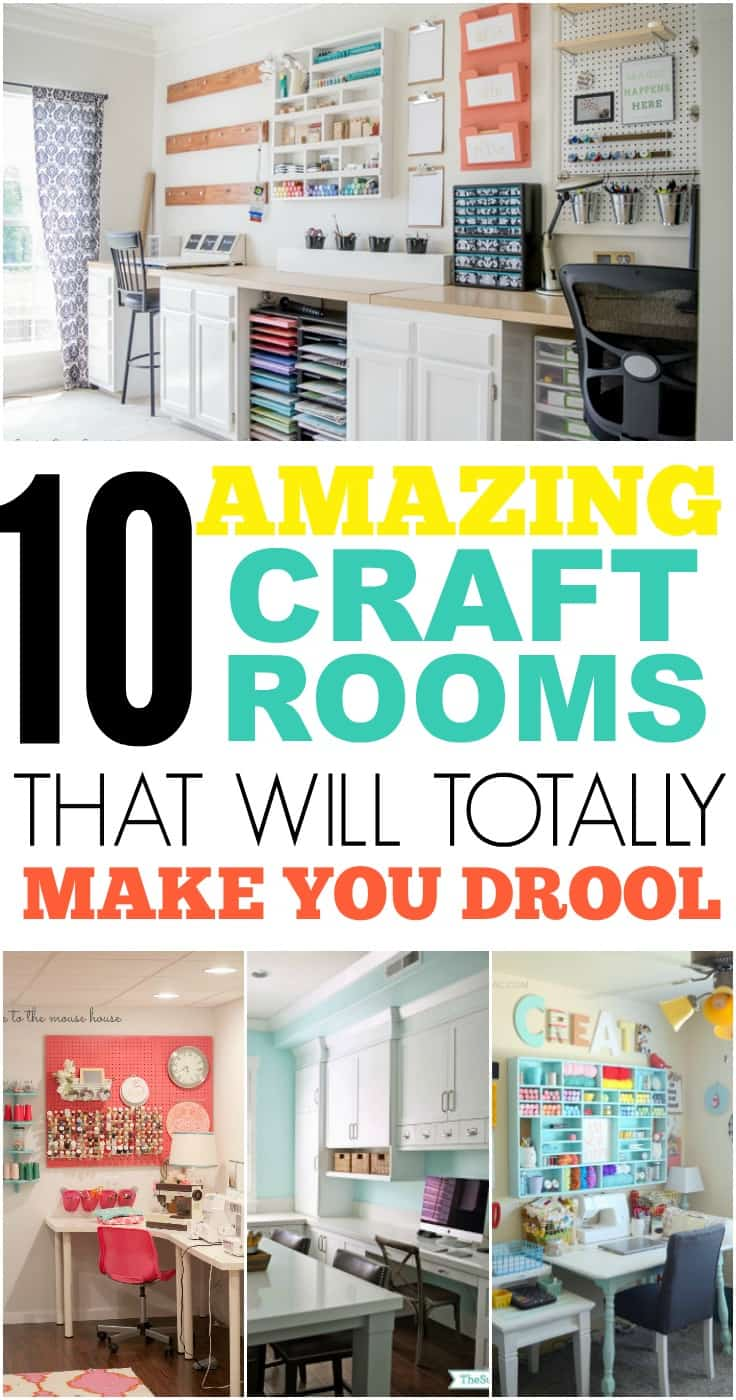 10 craft rooms that are drool worthy