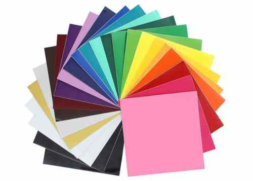 different colors of oracle 651 vinyl sheets