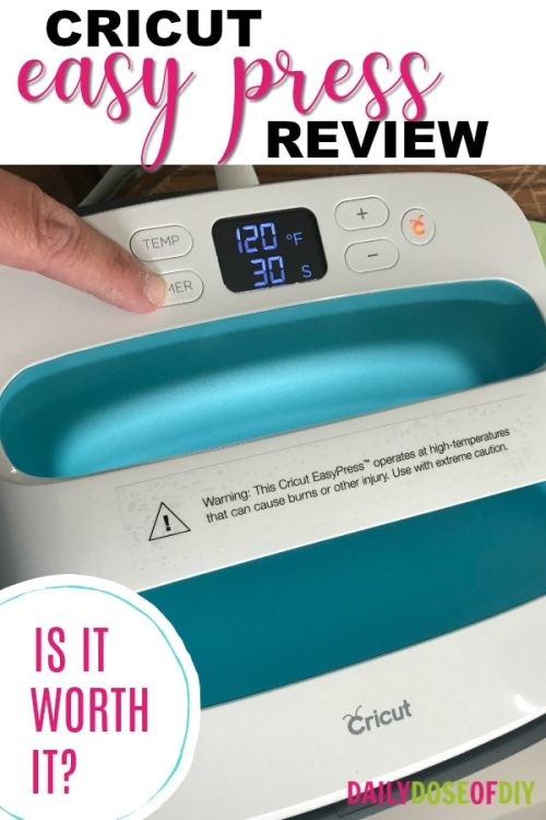 My Review of the Cricut Easy Press Heat Press Machine