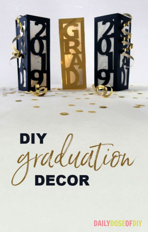Phenomenal Diy Graduation Decor Centerpieces Daily Dose Of Diy Home Remodeling Inspirations Genioncuboardxyz