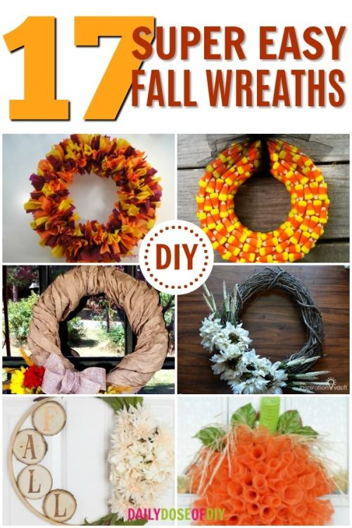 17 easy wreaths to make this Fall