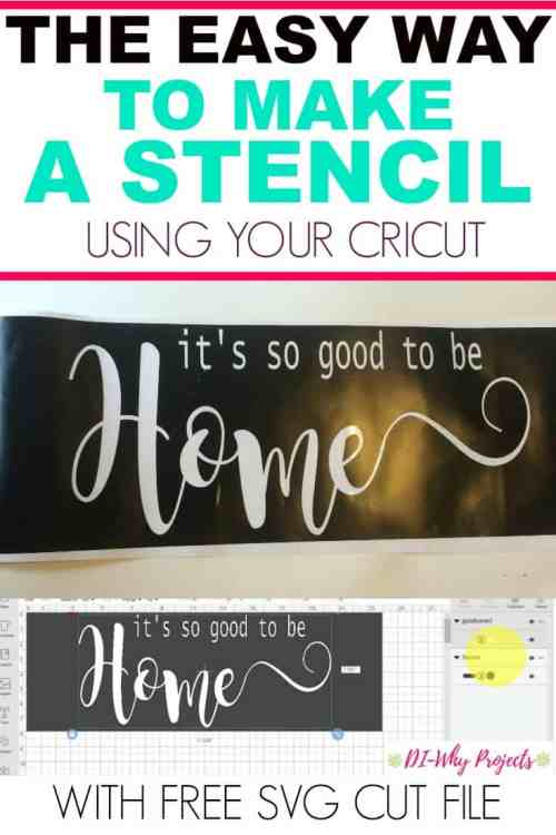 How To Make A Stencil With Your Cricut The Easy Way   Daily Dose