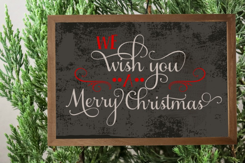 We Wish You A Merry Christmas Free Svg File 12 Days Of Free Christmas Svgs Daily Dose Of Diy