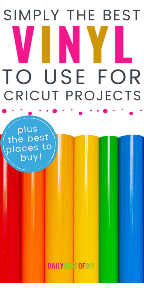 best vinyl for cricut plus best places to buy vinyl
