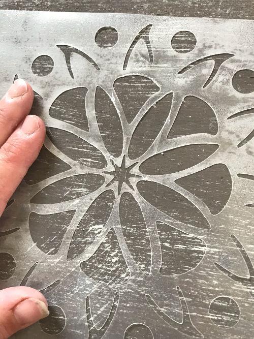 DIY Reusable Stencil With Cricut Explore - Daily Dose of DIY
