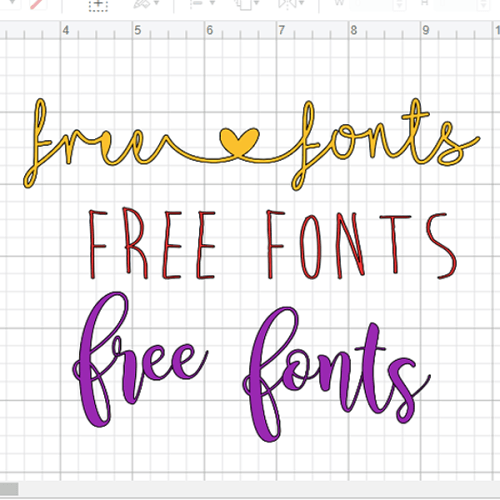 The best free fonts for Cricut