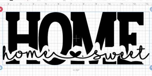 kNOCKOUT TEXT FROM TEXT IN cRICUT DESIGN SPACE