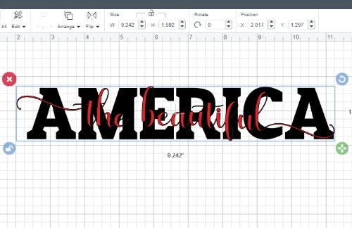 Size your second layer of text to yor first layer of text to make a knockout design