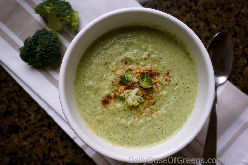 broccoli soup bowl
