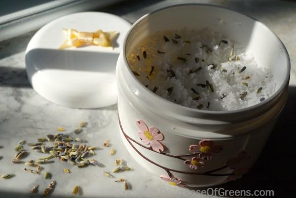 bath salts with lavender