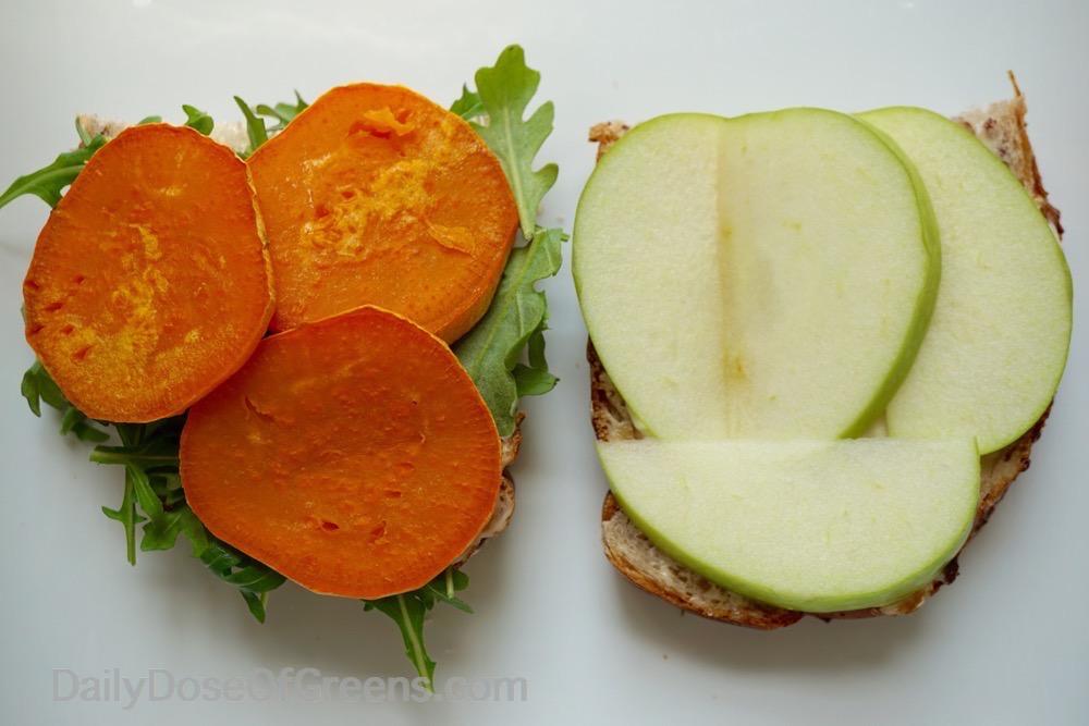 sweet potato and apple