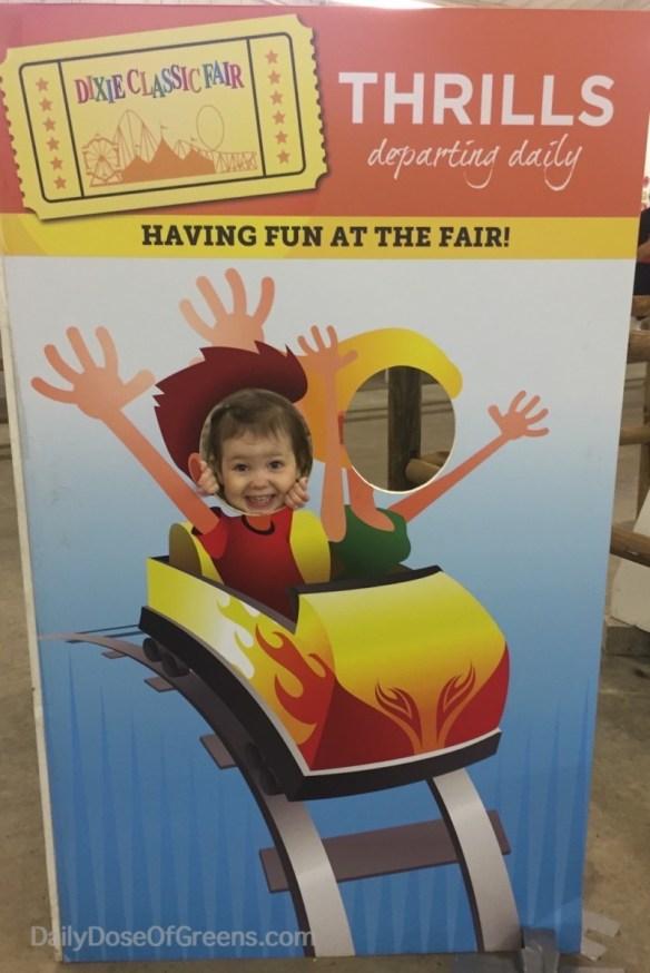 Abby at the fair