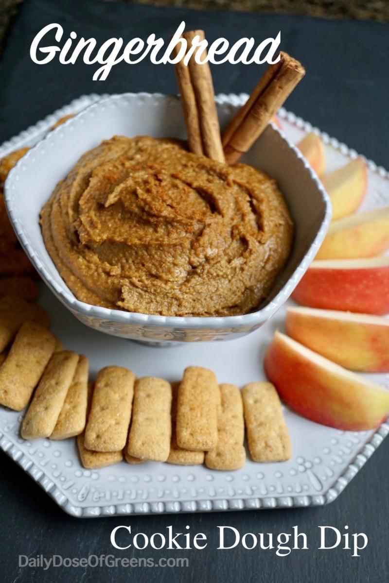 gingerbread cookie dough dip