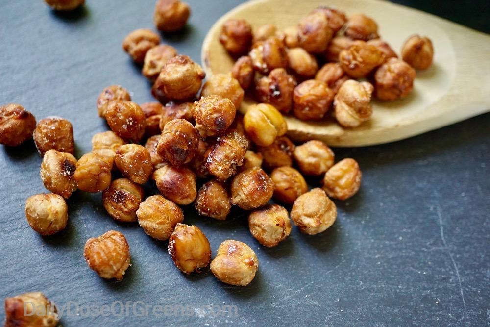 maple chickpeas