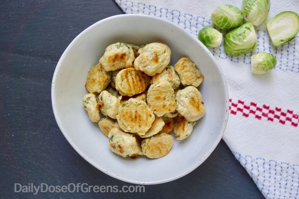cheesy roasted brussels