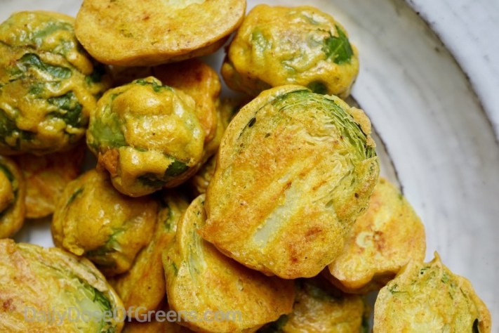 Ethiopian Roasted Brussels Sprouts