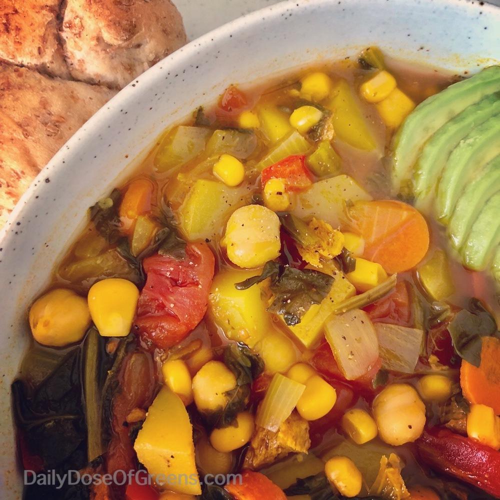 Turmeric Vegetable Stew