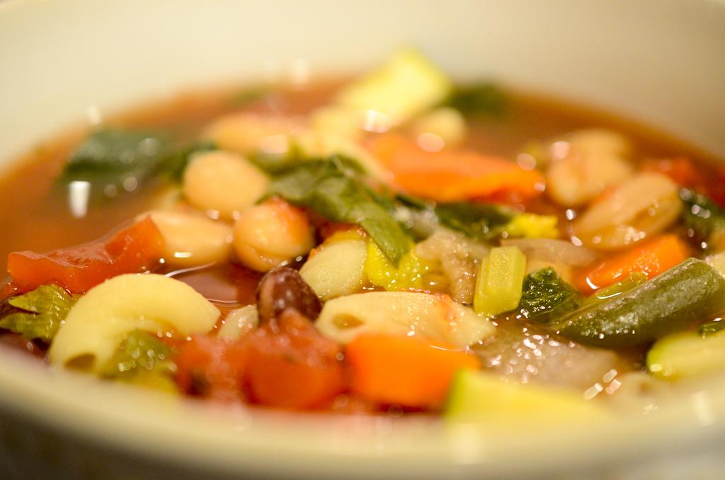 Mmm, minestrone.