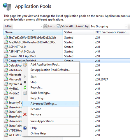 Know when your application pools recycling in IIS 7 5 – Log an entry