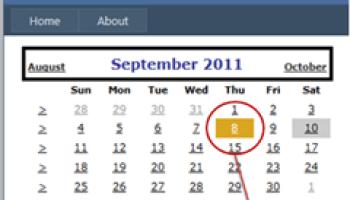 Asp Calendar Selected Date