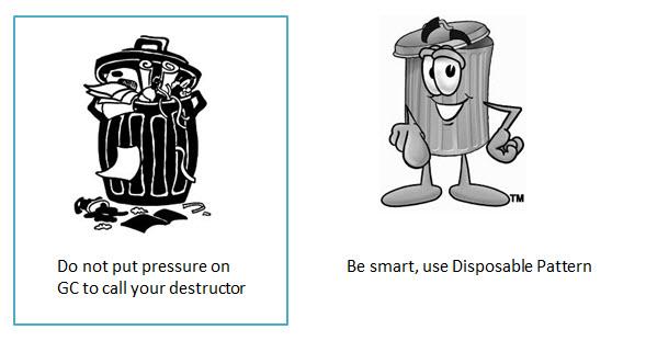Destructor Vs Disposable