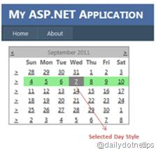 Change Background Color of Current Week in ASP.NET Calendar