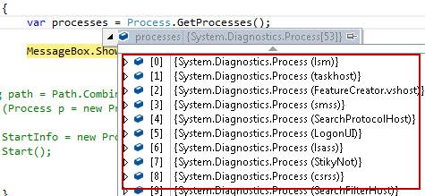 Process.GetProcesses