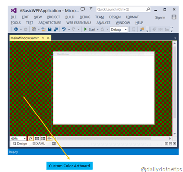 Changing the XAML Designer UI in Visual Studio
