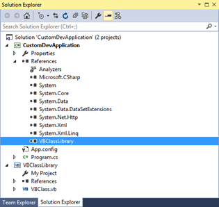 Back To Basics - Can we use both C# and VB Project within a single