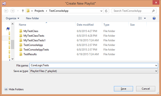 Save Playlist File