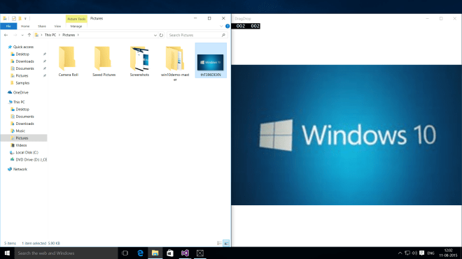 How to Implement Drag and Drop in Windows Universal Apps ?