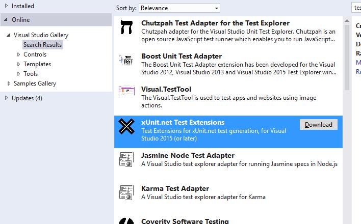 Adding New Test Framwork for IntelliTest