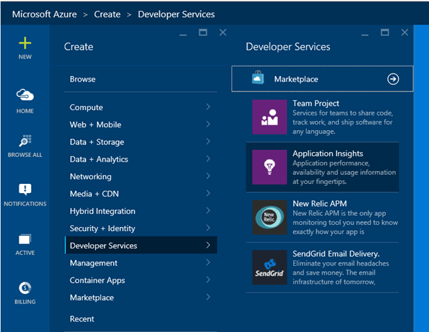 Adding Application Insights to a Universal Windows App