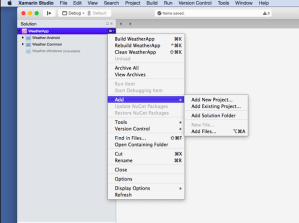 Building your first end-to-end Cross Platform app – Part 4 – iOS App