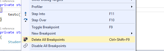 How to skip the confirmation dialog before deleting all breakpoints?