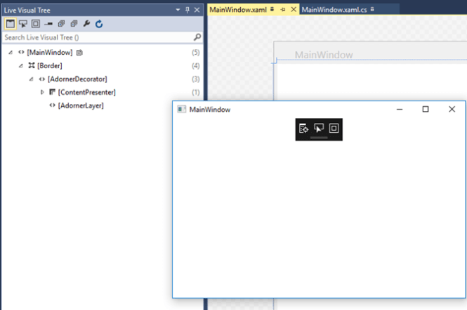 XAML Inspection Toolbar for WPF