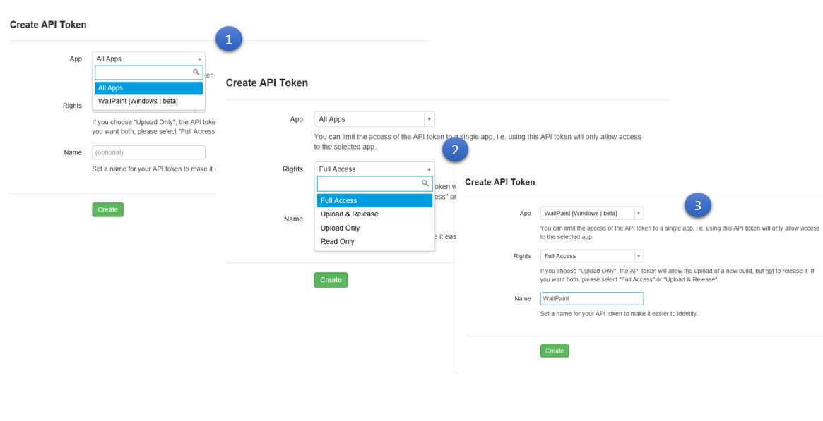 Obtaining the App specific HockeyApp API Token